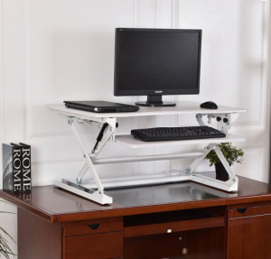 best stand up desk converters