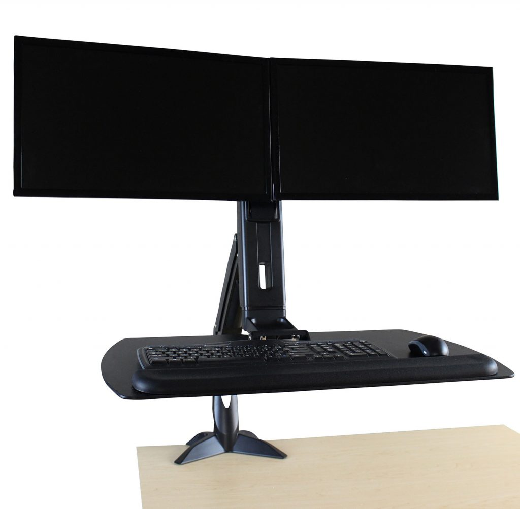 rightangle helium junior standing desk converter review